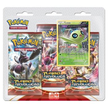 Pokemon-Triple-Pack-Celebi-XY-8-Turbo-Revolucao
