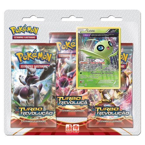 Pokemon-Triple-Pack-Celebi-XY-8-Turbo-Revolucao