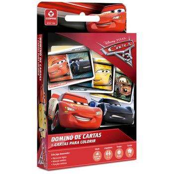 CARROS-3-DISNEY---DOMINO-DE-CARTAS-COPAG