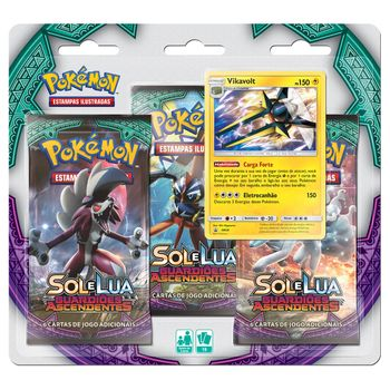 Triple-Pack-Pokemon-Vikavolt-Sol-e-Lua-2-Guardioes-Ascendentes