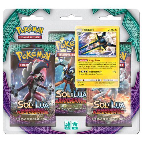 Triple-Pack-Pokemon-Vikavolt-Sol-e-Lua-2-Guardioes-Ascendentes
