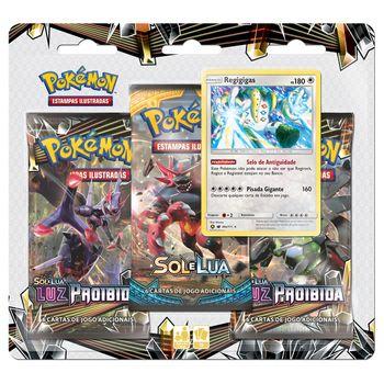 Triple-Pack-Pokemon-Regigigas-Sol-e-Lua-6-Luz-Proibida