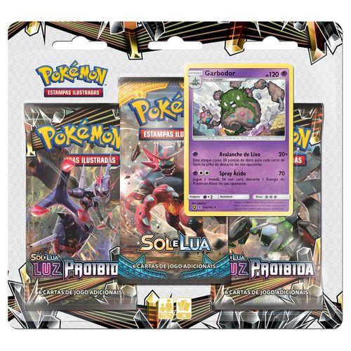 Triple-Pack-Pokemon-Garbodor-Sol-e-Lua-6-Luz-Proibida