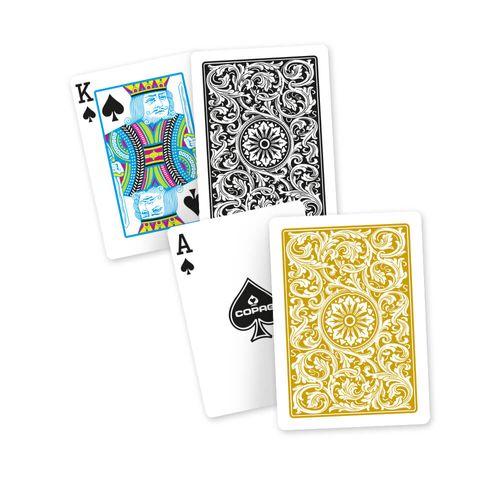 Baralho-Exportação-1546-Preto-Dourado-Poker-Size-Naipe-Convencional