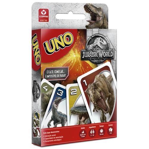 Jogo-Uno-Jurassic-World