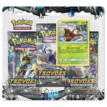 Triple-Pack-Pokemon-Exeggutor-de-Alola-Sol-e-Lua-8-Trovoes-Perdidos-