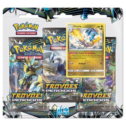 Triple-Pack-Pokemon-Altaria-Sol-e-Lua-8-Trovoes-Perdidos-