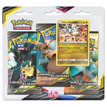 Pre-venda-Triple-Pack-Pokemon-Ultra-Necrozma-Sol-e-Lua-9-Uniao-de-Aliados