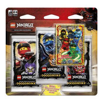 Blister-Triplo-Lego-Ninjago-Equipe-Mestre-Spinjitzu