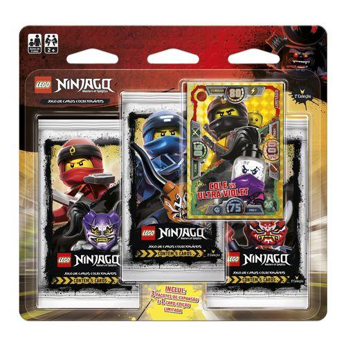 Blister-Triplo-Lego-Ninjago-Cole-Vs.-Ultra-Violet-Primeira-Colecao