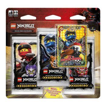 Blister-Triplo-Lego-Ninjago-Jay-Vs.-Chopper-Marrom-Primeira-Colecao