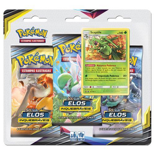 Triple-Pack-Pokemon-Sceptile-Sol-e-Lua-10-Elos-Inquebraveis