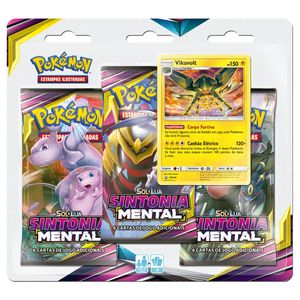 Triple-Pack-Pokemon-Vikavolt-Sol-e-Lua-11-Sintonia-Mental