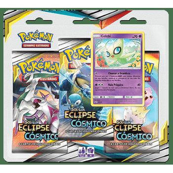 Triple-Pack-Pokemon-Celebi-Sol-e-Lua-12-Eclipse-Cosmico