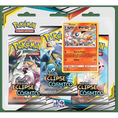 Triple-Pack-Pokemon-Vicctini-Sol-e-Lua-12-Eclipse-Cosmico