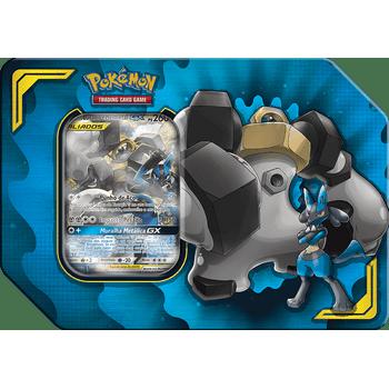 Lata-Pokemon-Lucario-e-Melmetal-GX-Parceria-Poderosa