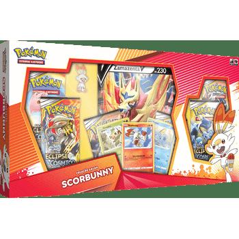 Box-Pokemon-Scorbunny-Zamazenta-Colecao-Galar