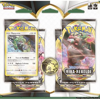Blister-Quadruplo-Rayquaza-Pokemon-Espada-e-Escudo-2-Rixa-Rebelde-