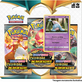 Triple-Pack-Pokemon-Hatenna-Espada-e-Escudo-3-Escuridao-Incandescente