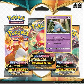 Triple-Pack-Pokemon-Hatenna-Espada-e-Escudo-3-Escuridao-Incandescente