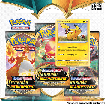 Triple-Pack-Pokemon-Pikachu-Espada-e-Escudo-3-Escuridao-Incandescente