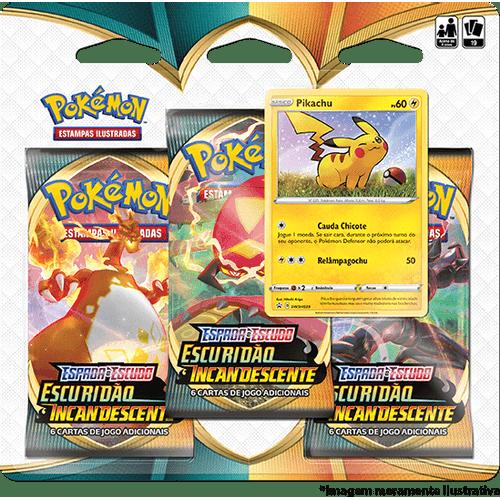 Triple-Pack-Pokemon-Pikachu-Espada-e-Escudo-3-Escuridao-Incandescente