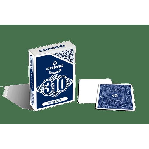 Baralho-310-Profissional-Slimline-Face-Off-Azul