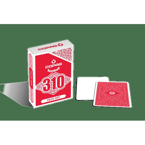 Baralho-310-Profissional-Slimline-Face-Off-Vermelho