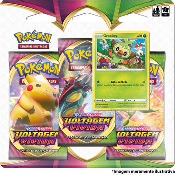 Triple-Pack-Pokemon-Grookey-Espada-e-Escudo-4-Voltagem-Vivida