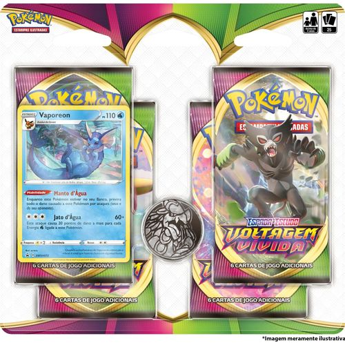 Blister-Quadruplo-Pokemon-Vaporeon-Espada-e-Escudo-4-Voltagem-Vivida
