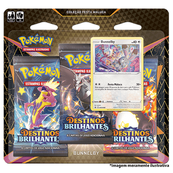 Triple-Pack-Pokemon-Bunnelby-Destinos-Brilhantes-