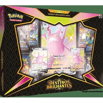 Box-Pokemon-Crobat-Brilhante-Vmax-Destinos-Brilhantes